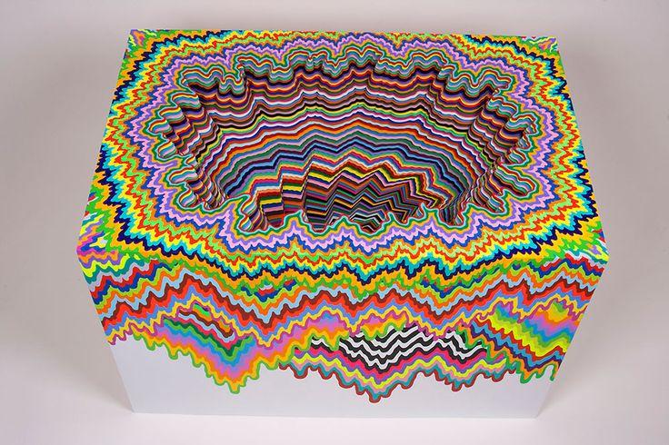 [F]フロリダのアーティストジェン・スタークの作品。色合いが独特で綺麗。