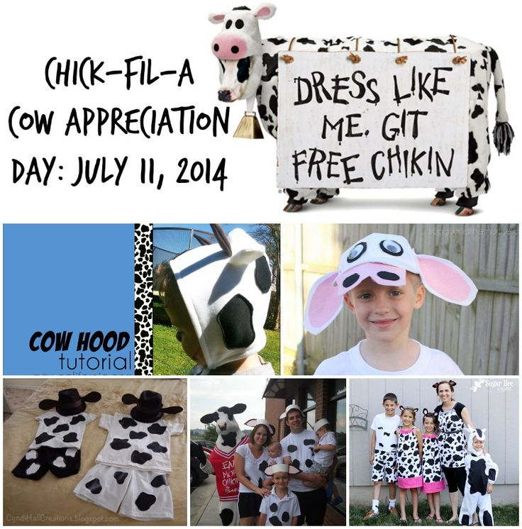 5 Easy Cow Costumes for Cow Appreciation Day! by Redhead Baby Mama