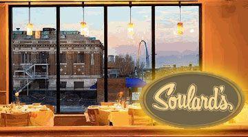 $25 worth of dinner & drinks at Soulard's Restaurant for only $12