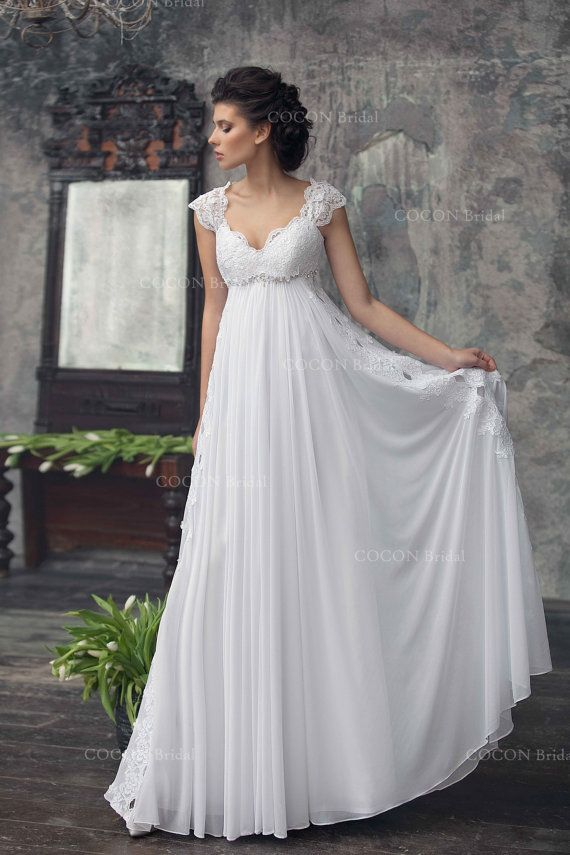 vestido de novia bohemio de la gasa cordn francs boho vestido romntica y soadora del vestido de novia estilo abba boda a pinterest boho