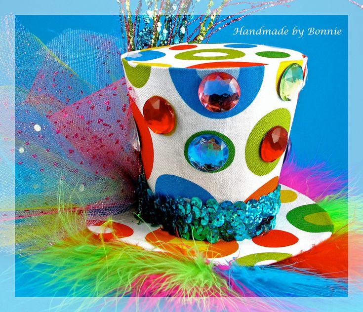 Rainbow Tiny Top Hat