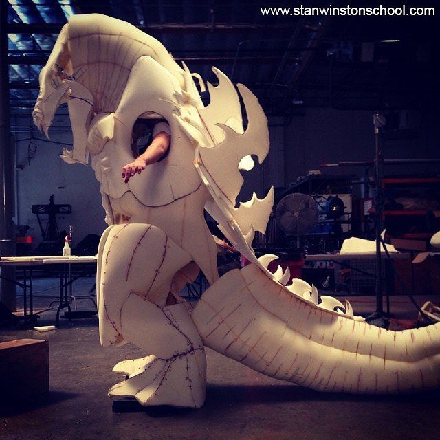 """How to Make a Kaiju Costume: Entire """"Fabricate a Monster Suit"""" Series Released ON-DEMAND! LINK IN BIO! Announcing the On-Demand release of our #Kaiju #costume making #course series featuring #Hollywood's #fabrication #masters @bill.staypuft & @monstermaker89."""