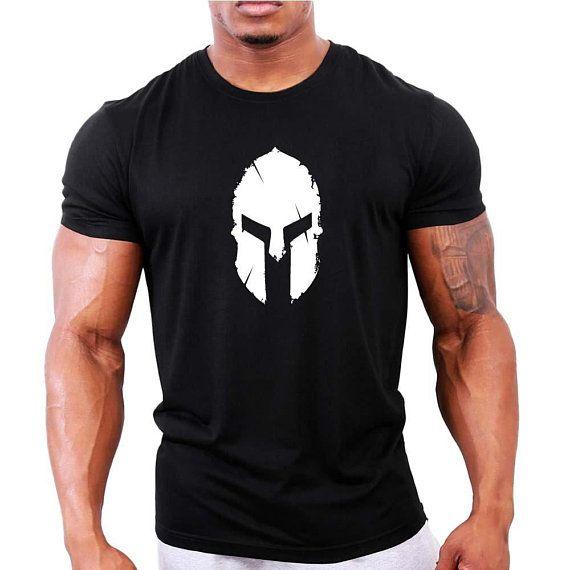 Pakistan Flag Spartan Helmet T-shirt Gym Workout Bodybuilding Fitness Top Tee