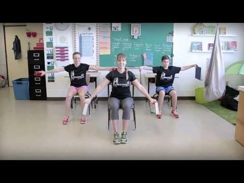 Bouge en classe avec Jeunes en santé #1 - YouTube