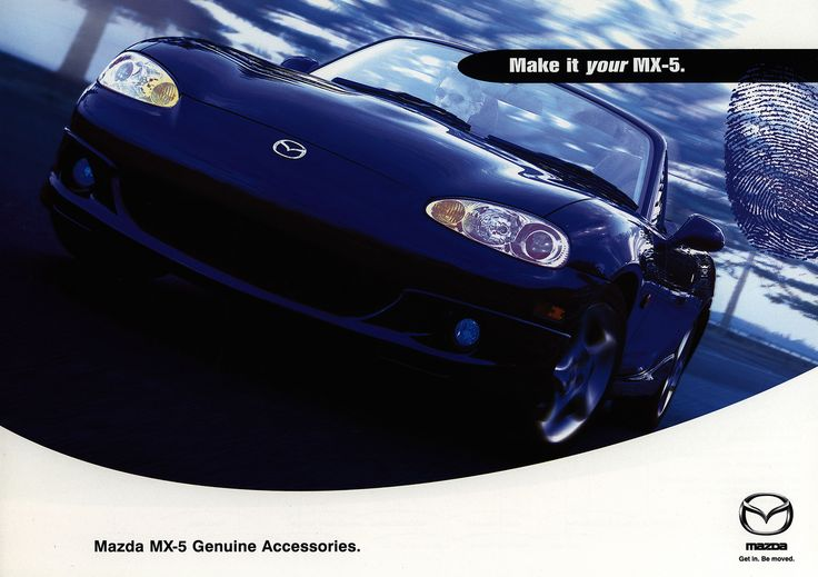 https://flic.kr/p/Gb46JW | Mazda MX-5 Genuine Accessories; 2001  (Australia) | front cover car brochure by worldtravellib World Travel library