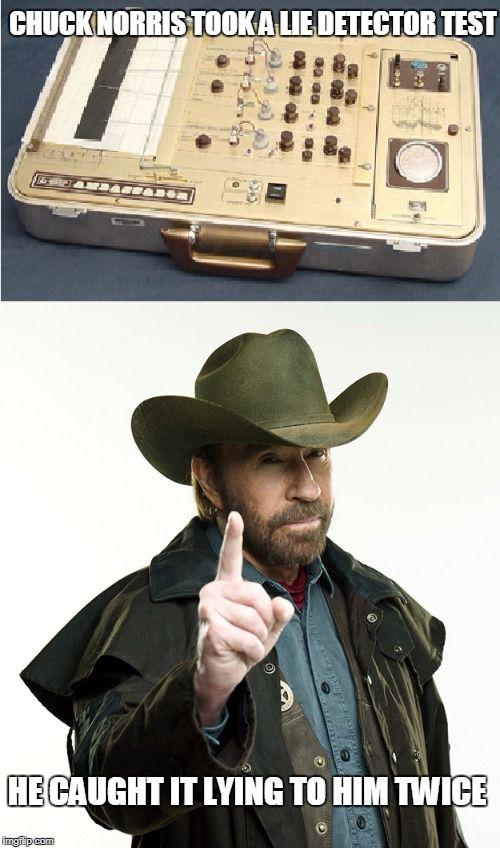 Chuck Norris lie detector