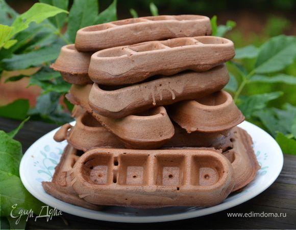 """Шоколадные вафли (""""Школьная ссобойка"""")"""
