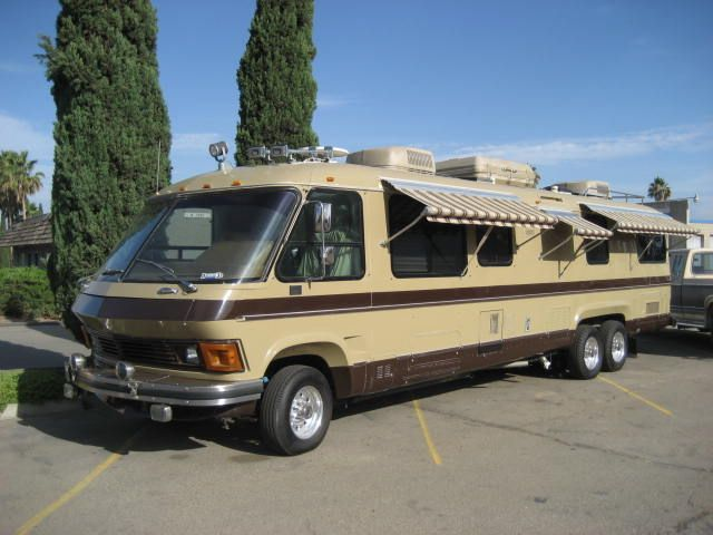 Gmc Motorhome Slide Out Google Search Gmc Motorhome
