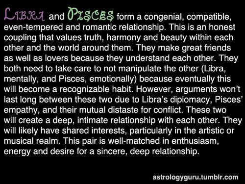 compatibility with libra and pisces relationship