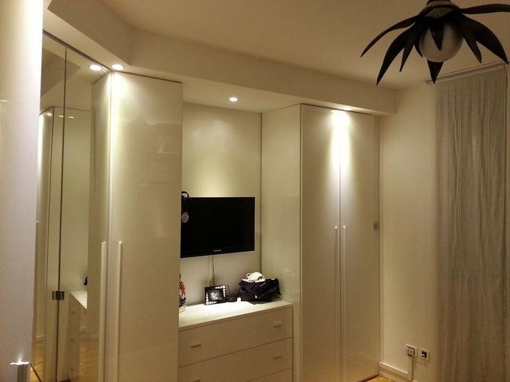 Lavori in cartongesso camera da letto edile cartongesso milano parete pinterest bedrooms - Cartongesso camera da letto ...