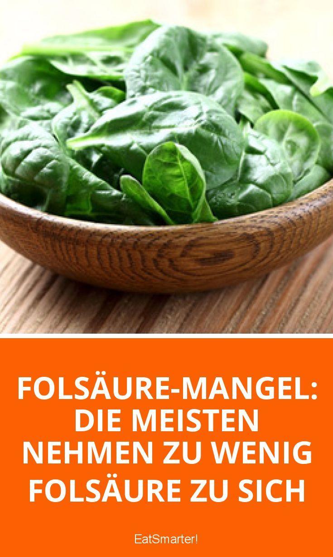 Folsäure-Mangel: Die meisten nehmen zu wenig Folsäure zu sich | eatsmarter.de