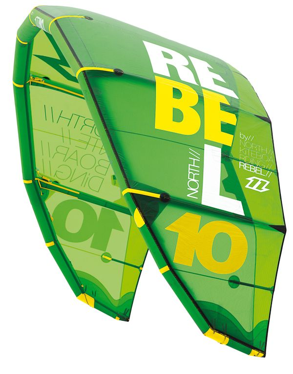 North Kites Rebel 2014 Green - Mexico - Mex Kites - Buy Online - http://www.mexkites.com/tienda-2/
