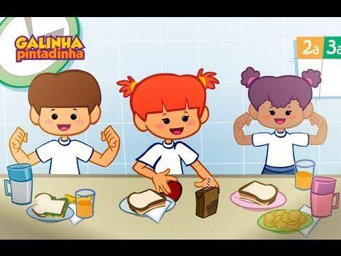 Meu Lanchinho - DVD Galinha Pintadinha 2 - Desenho Infantil - YouTube