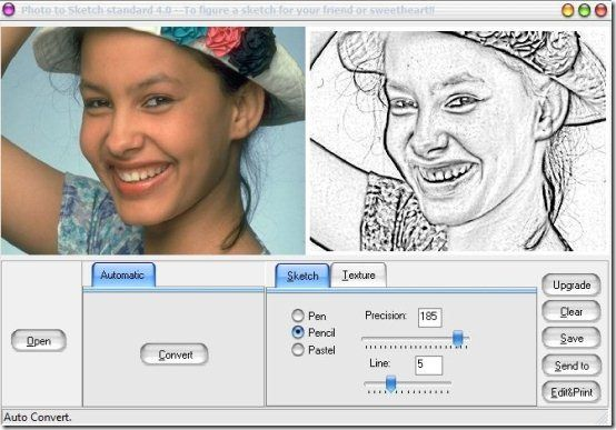 Photo To Sketch est un superbe outil gratuit qui va transformer vos photos en dessin
