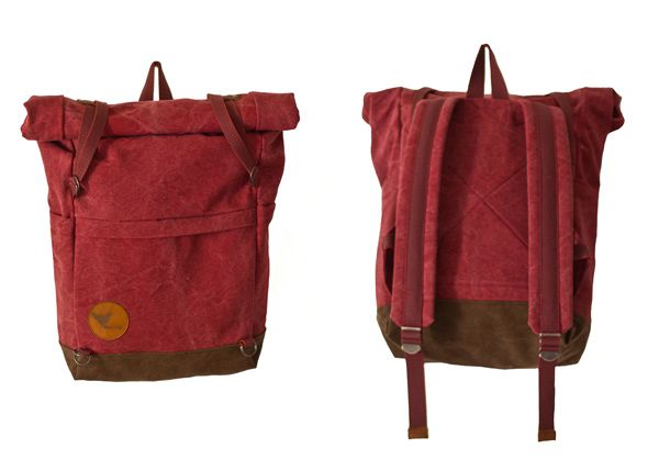 "Summer 2014 - ""Urban Nomads"" - ULRIK - DARK RED/CHOCOLATE BROWN - Blind Chic."