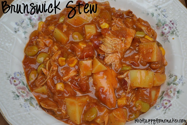 Best ever Brunswick Stew. I'm always on the lookout for new stew recipes..