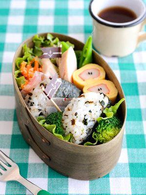 【ELLE a table】まん丸おにぎりのお弁当/Bentoギャラリー優秀賞レシピ|エル・オンライン