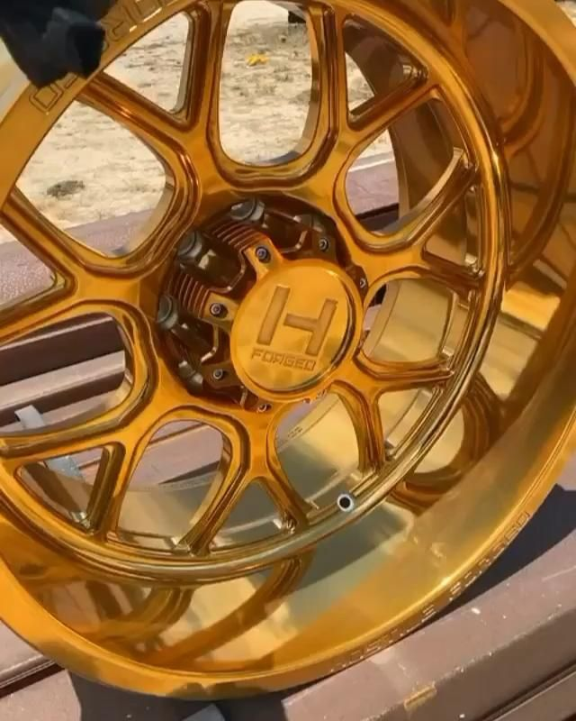 Gold Powder Coated Wheel! Video in 2020 | Gold powder ...