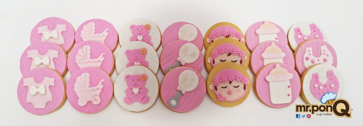 Galletas Baby Shower Niña