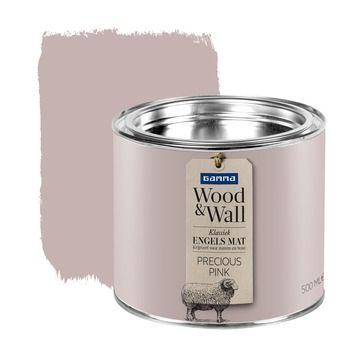 GAMMA Wood&Wall krijtverf Precious Pink 500 ml in de beste prijs-/kwaliteitsverhouding, volop keuze bij GAMMA
