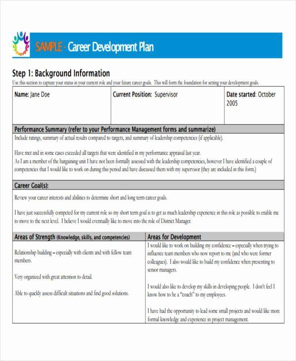 40 Employee Development Plan Examples Career Development Plan