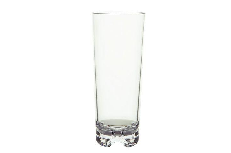 Amazon.com | Strahl Vivaldi Clear Highball Tumblers, Set of Six: Duraclear Glasses: Tumblers