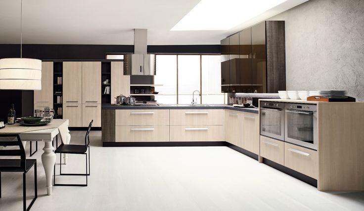 La cucina ad angolo di arrex bella e funzionale with cucina ad angolo - Uscire da finestra layout autocad ...