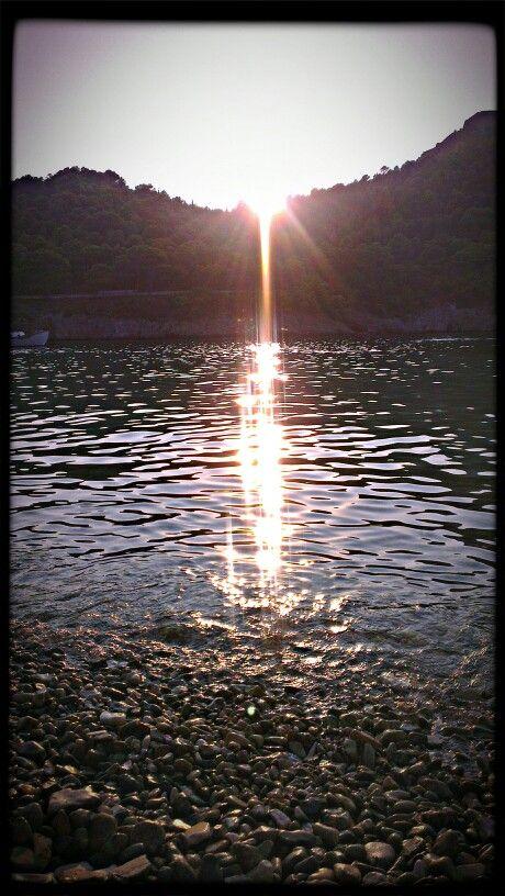 #Sunset at #Assos, #Kefalonia