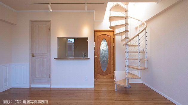 おしゃれな室内らせん階段キット イタリア製 #らせん階段