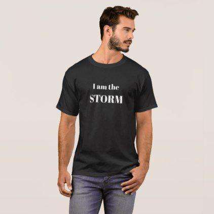 I am the STORM Tom Brady NFL Quote T-Shirt - quote pun meme quotes diy custom