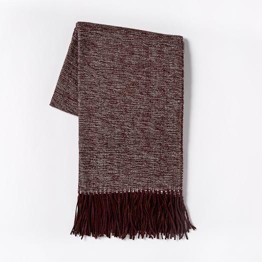 Warmest Throw - Yarn Dyed | west elm