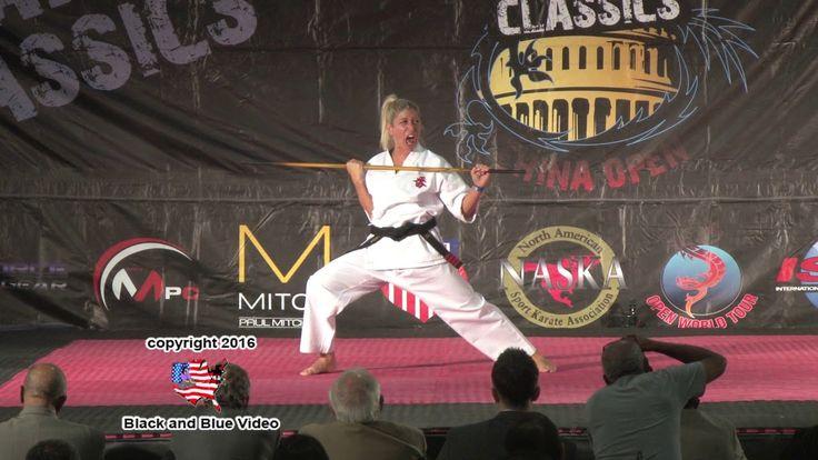 Becca Ross Bo Kata 2016 U S Capitol Classics Karate Tournament Finals