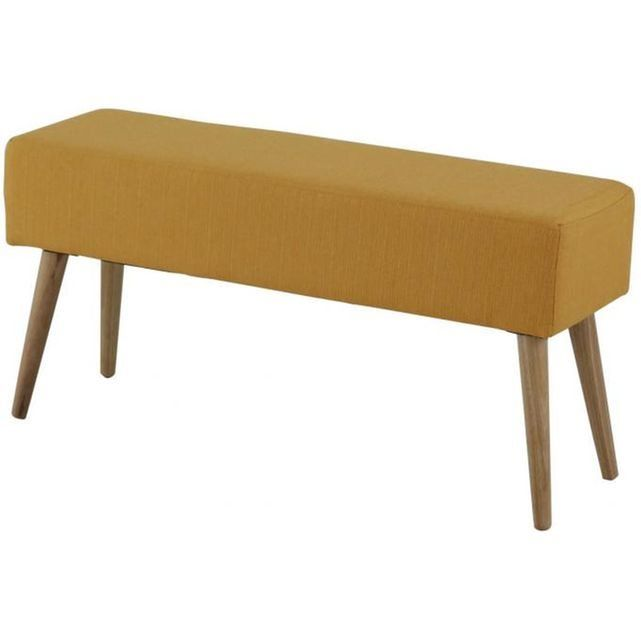 Un banc colorée au design scandinave LeBanc Scandinave Rouge EDVARD est d'inspiration scandinave. Son assise en tissu est très confortable. - Matière : Tissu- Couleur : Rouge- Dimensions : L.100 x P.30 x H.50 cm- Poids : 9 kg