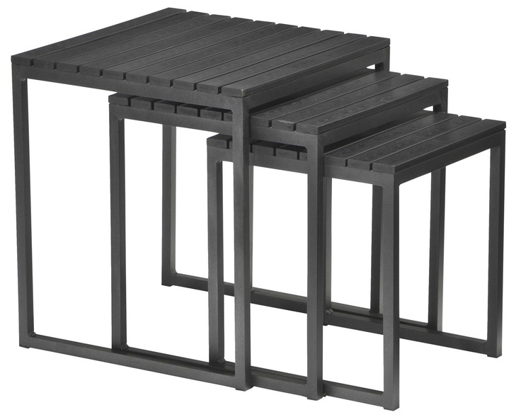 3 small tables for the balcony - 699kr