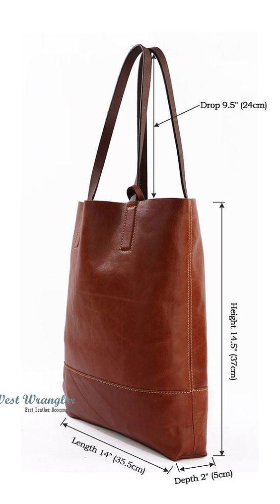 (189) Handmade leather bag for laptop, books, office, business bag, multi-function bag, shoulder bag | Bags