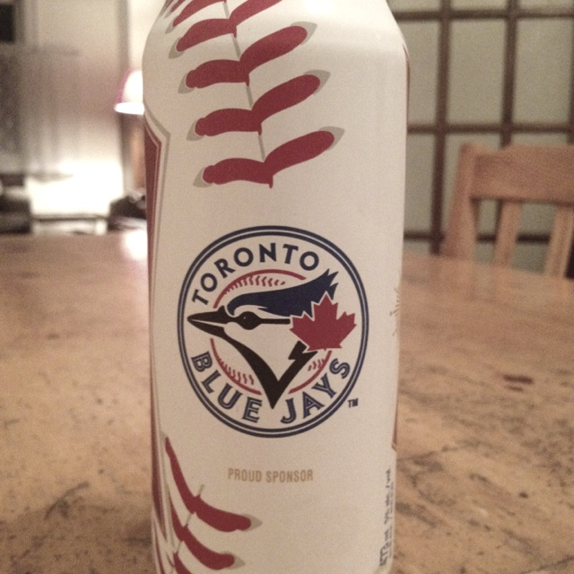 Budweiser Toronto Blue Jays beer