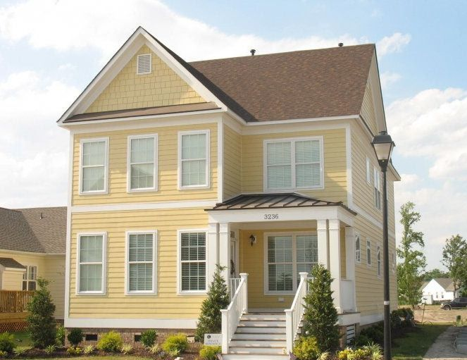 Yellow House Siding Colors
