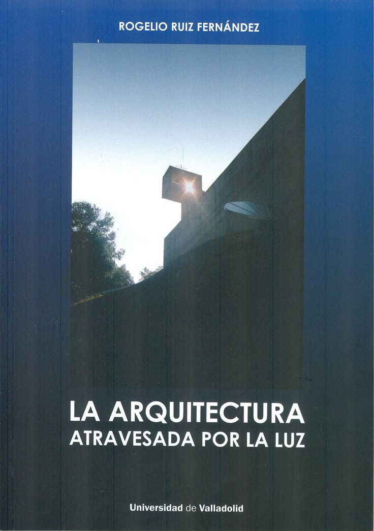 Este libro es un estudio sobre un fenómeno muy frecuente en Arquitectura pero sin embargo no estudiado hasta ahora con profundidad. Se trata de los ejes de espacio y de luz que atraviesan los edificios dejándonos ver la claridad dentro de la masa.  +info: (pinchando foto se accede a la página de EdUVa)