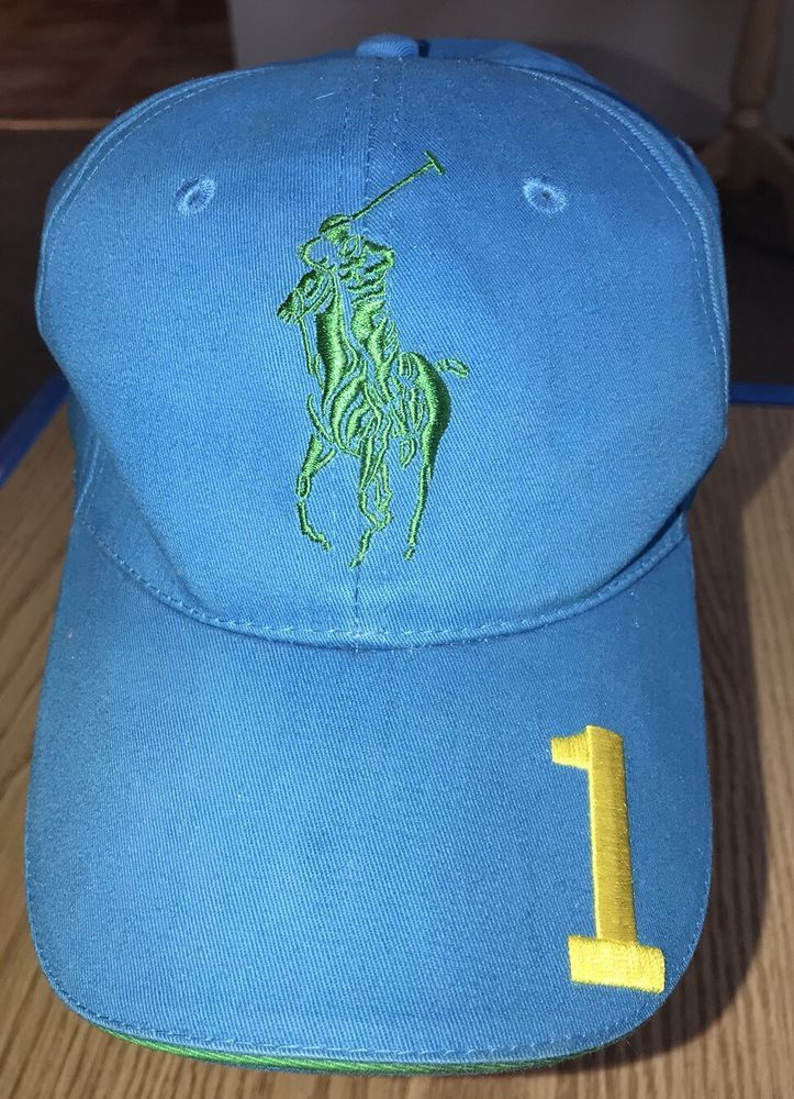 Polo Ralph Lauren Big Pony Fragrances Blue Hat Cap  1  fashion  clothing   4d0c816b76ef