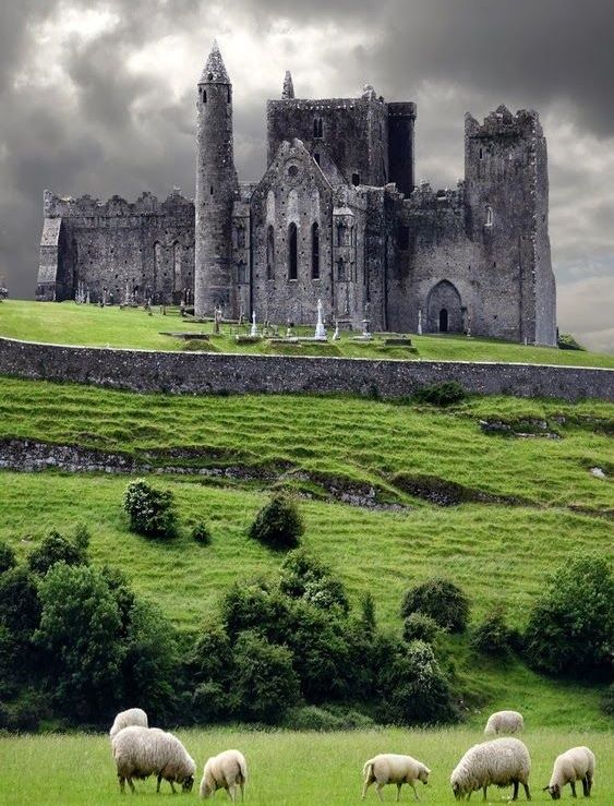 Beauty of The Rock of Cashel - Ireland: