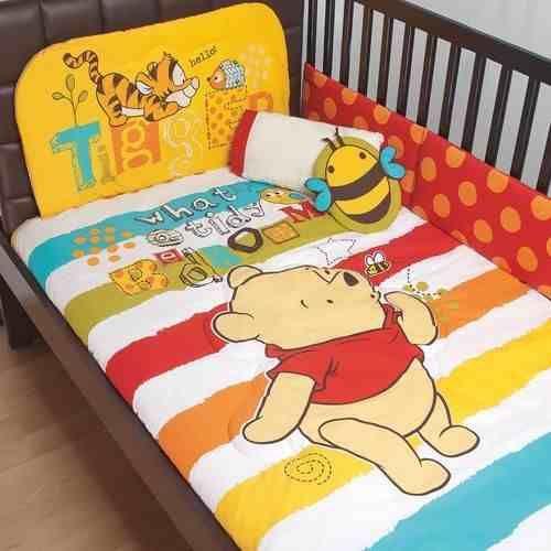 set de edredon para cuna de bebe winnie pooh baby disney