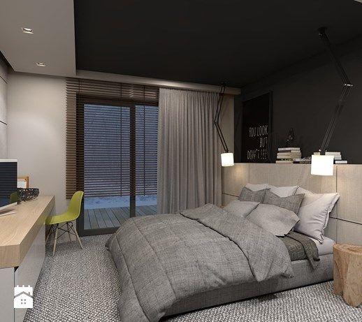 Sypialnia styl Nowoczesny - zdjęcie od A2 STUDIO pracownia architektury