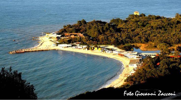 #Portonovo , la perla del #Conero di Giovanni Zacconi  http://www.hotelsinmarche.com/monte-conero