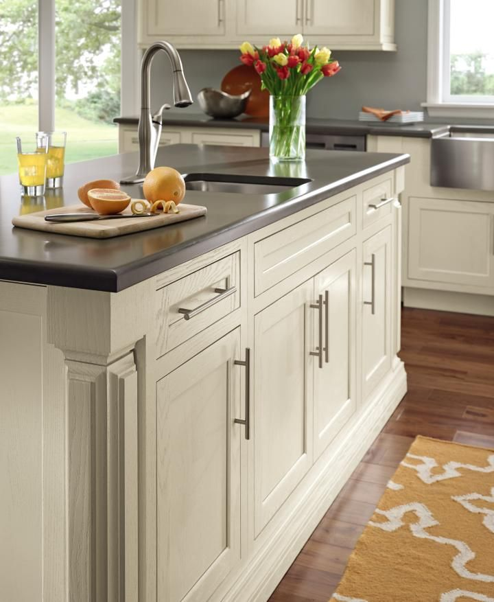Decora's Prescott Inset Door Style Shown On This #kitchenisland Displays A High Level Of