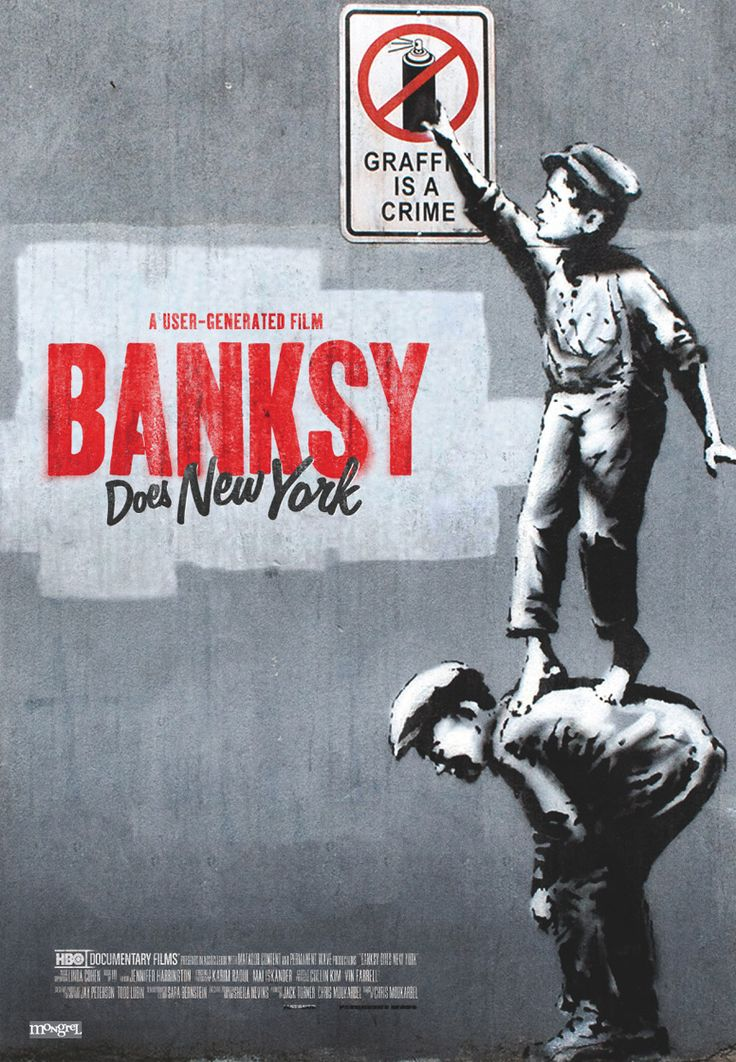 Fuck Yeah Movie Posters! — Banksy Does New York