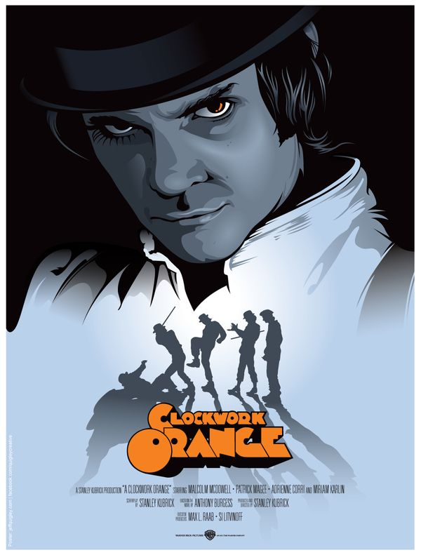 A Clockwork Orange - Stanley Kubrick © Jeff Quigley