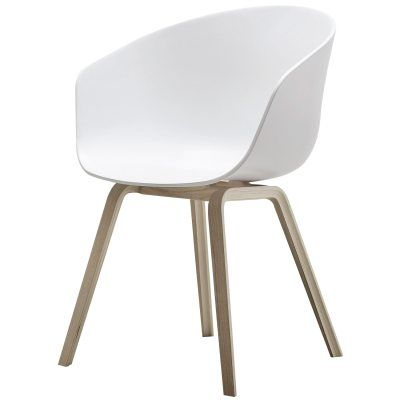 About a Chair 22, vit/ekben - Hay