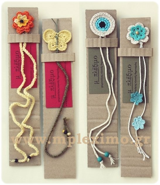 crochet bookmarks handmade