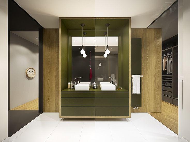 Olive Green Bathroom Decorating Ideas For Your Luxury Bathroom 8