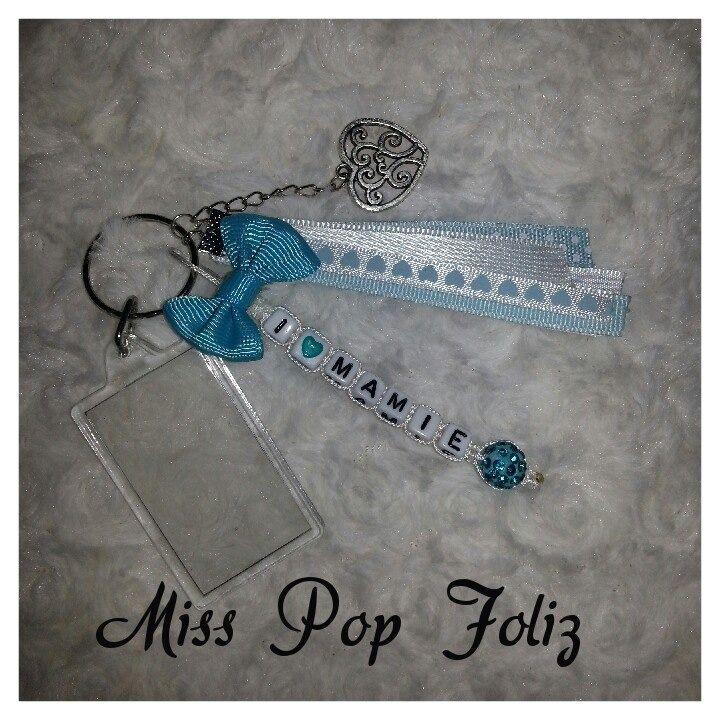 porte clés personnalisé avec porte photo